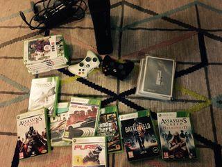 Xbox 360 120GB 14 juegos