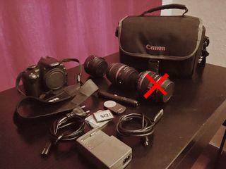 CANON EOS 350D y accesorios