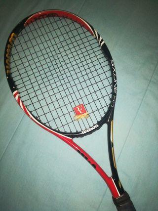 Raqueta wilson six.one 95