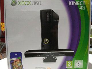 Consola xbox 360 Kinect, como nueva