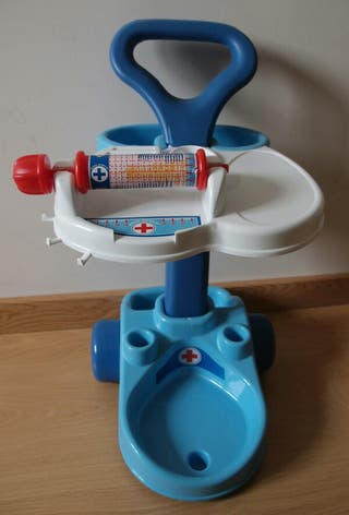 Carrito clinica medica Palau toys