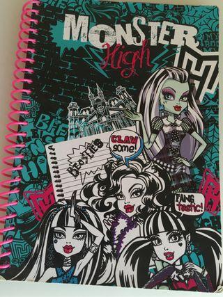 Libreta Monster High
