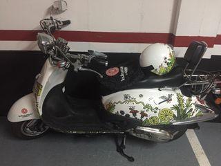 Moto scooter tipo vespa