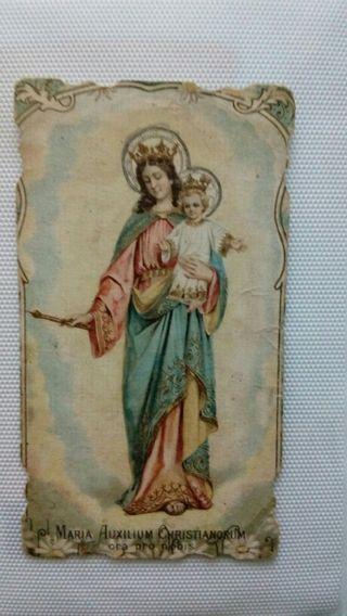 estampa religiosa antigua