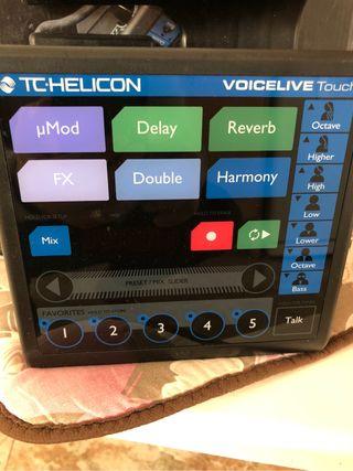 Helicon voces live