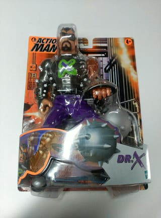 figura action man dr x