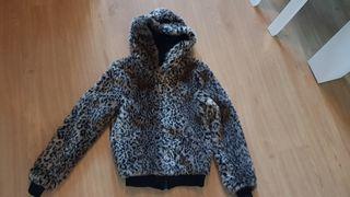 Sudadera leopardo
