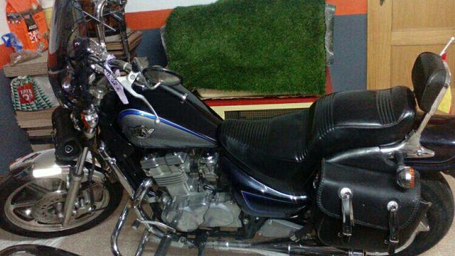 Alforjas de cuero para moto