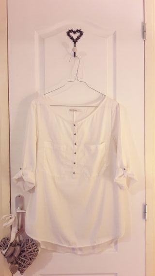Blusa blanca L