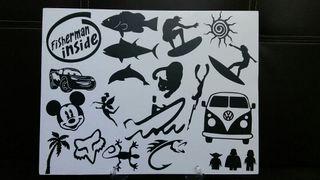 stickers de vinilo