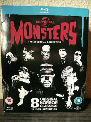 Pack blu ray Monsters monsters blu ray