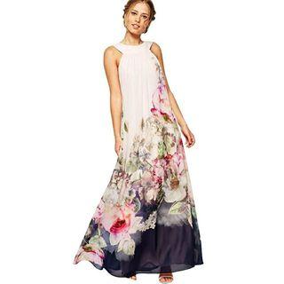 Vestido veraniego floral