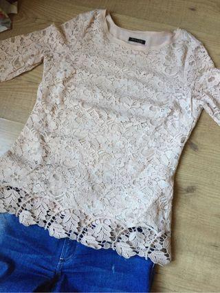 Camiseta blusa Massimo Dutti