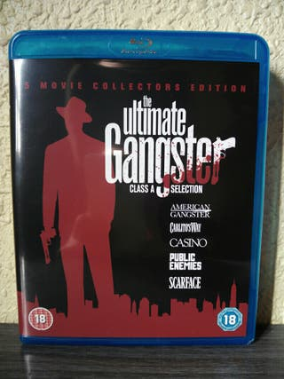 Pack the ultimate Gangster blu ray gangster