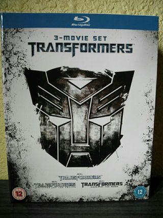 Pack Transformers blu ray transformers