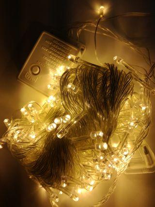 luces navidad mulifuncion 100leds