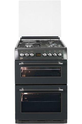 Cocina con doble horno y placa