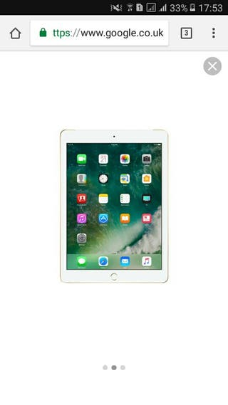 Apple 9.7-inch iPad - Wi-Fi + 4G - 32 GB - Gold -