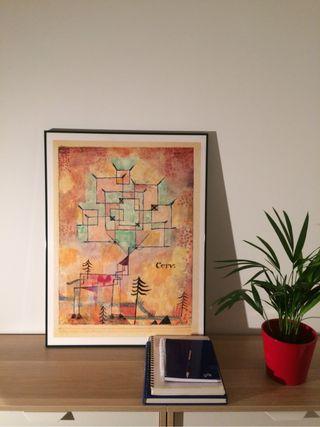 Cuadro Paul Klee arte contemporáneo