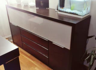 Mueble aparador salon de segunda mano por 320 en valdemoro en wallapop - Muebles segunda mano madrid particulares ...