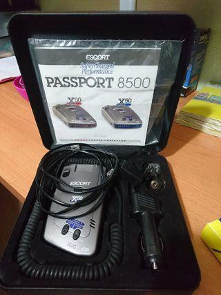 passport 8500 scort x50