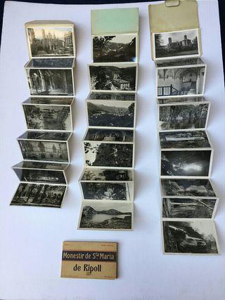 4 albumes de postales antiguas