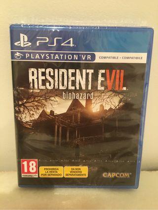 Resident evil 7, ps4