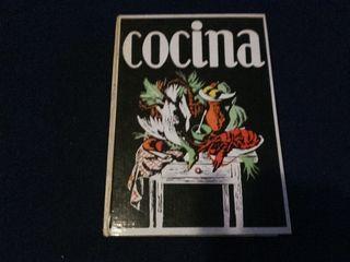 Libro manual de cocina recetario 1973