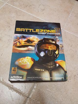 Battlezone II caja de juego.
