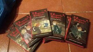 colección libros pequeño vampiro