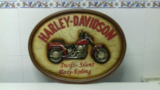 Cuadro Harley Davinson