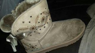 botas de pelo calentitas