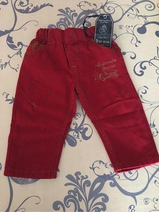 pantalón con felpa 12 meses