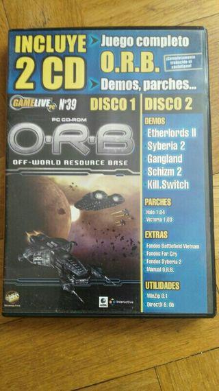 O.R.B off- world resource base juego ordenador