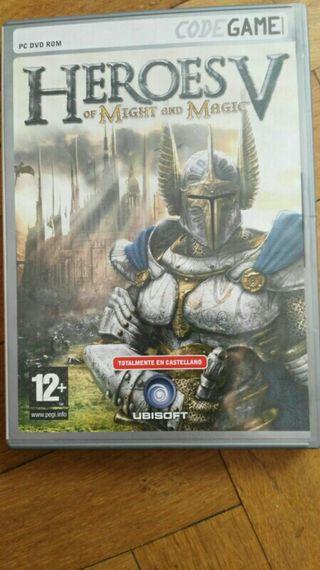 Heroes Might and Magic V juego pc