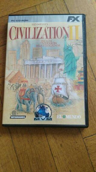 la civilization II juego pc