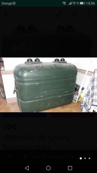 deposito utilizado para gasoil calefacción