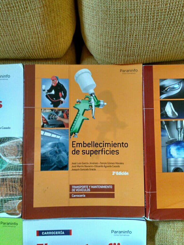 Libros FPGM Carrocería