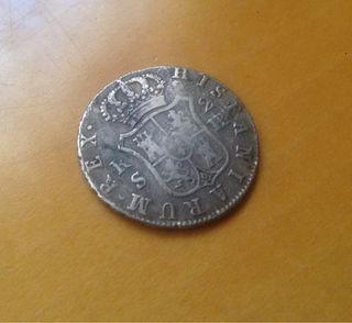 Moneda de plata de 2 reales 1833
