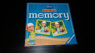 Juegos de memoria mani manitas(HANDY MANNY)