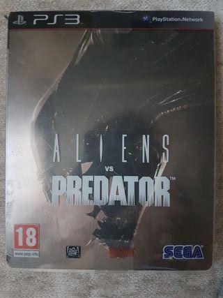Ps3 Alliens Predator ES