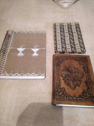 libretas y agenda artesanales y con estilo