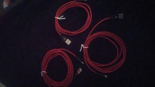 cable de cargador 1, 2 o 3 metros