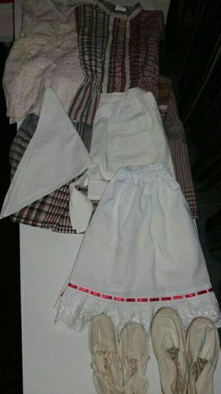 traje de aldeana