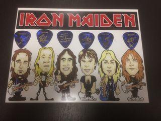Iron maiden lote puas edición limitada colección