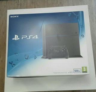caja PlayStation 4