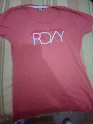 camiseta roxy l