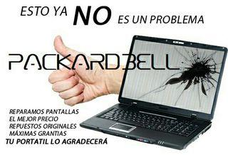 Reparar pantalla portátil Packard Bell