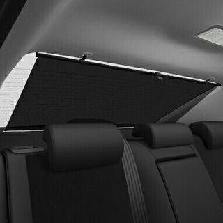 cortina trapezoidal coche