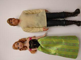 muñecas Ana y Cristoff